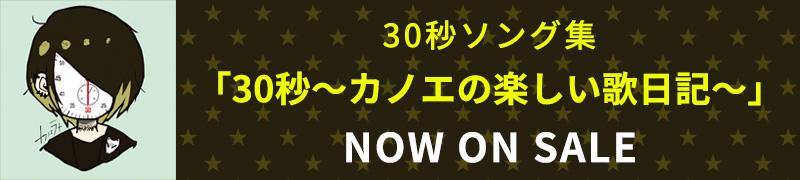 30秒ソング集「30秒~カノエの楽しい歌日記~」